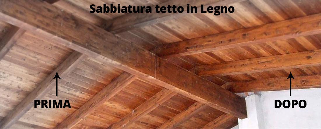 Sabbiatura legno e arredamento a bologna for Tetto in vetro prezzi